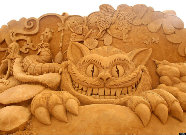 Creepy Crawlies Sand Sculpting Exhibiton
