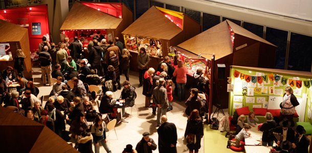 Hanukkah Christmas Market Opening in Berlin