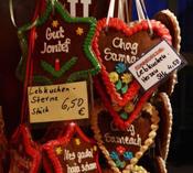 Hanukkah Christmas Market Sweets