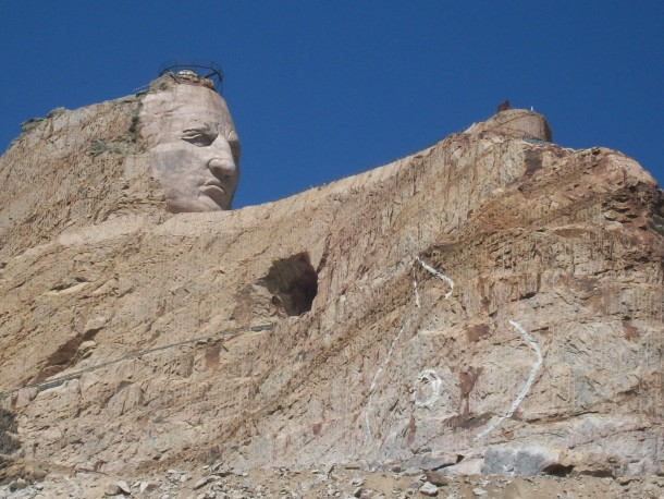 Crazy Horse Statue in South Dakota