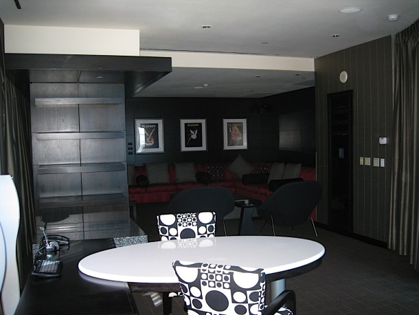 Hugh Hefner Sky Villa at the Palms Casino & Resort, Las Vegas