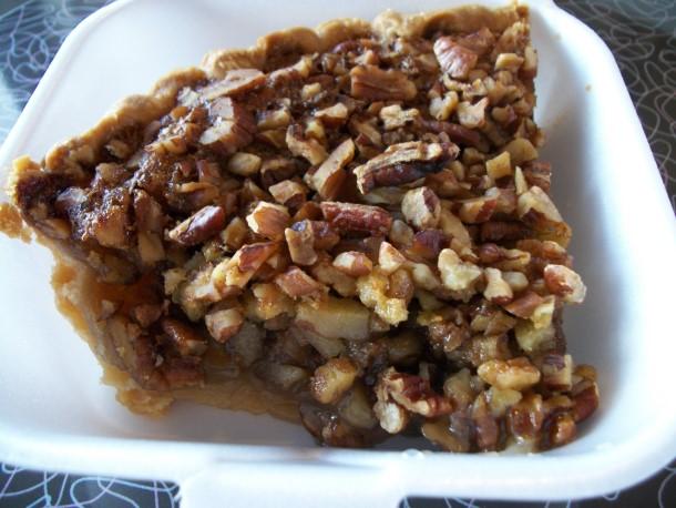 Southern pecan pie, Sarasota, Florida
