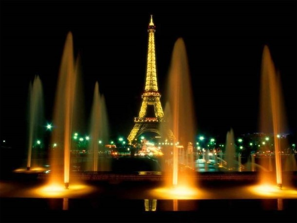 The City of Lights, St. Valentine's in Paris, France (Eiffel Tower)