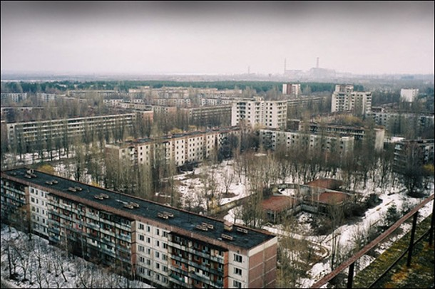 The City of Cernobyl - 26 April 1986