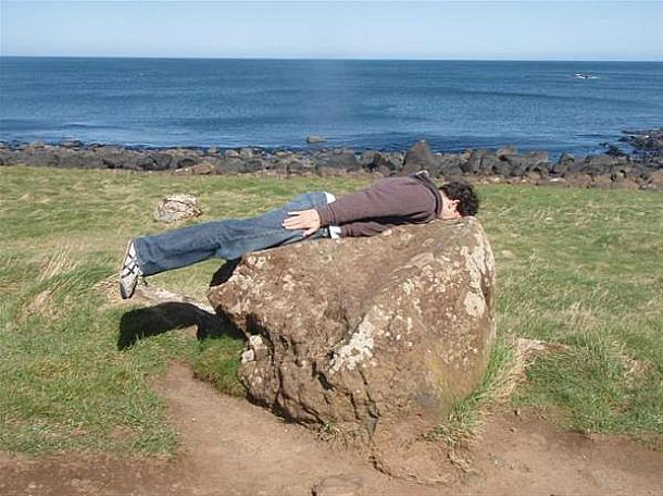 Man Planking