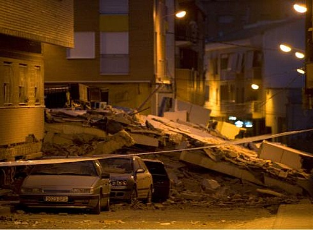 Spain Earthquake in Lorca, May, 11th