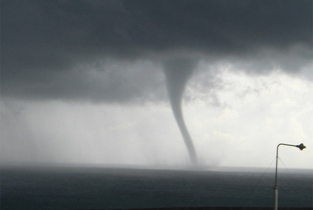 Spectacular Waterspout in Australia