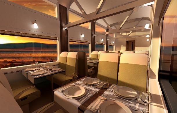 The Train of Le Massif de Charlevoix