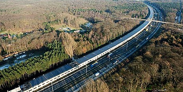 First Train in Belgium Using Solar Energy
