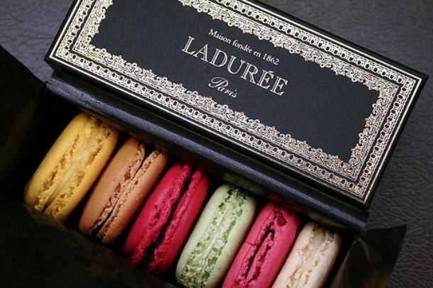 Macarons at LaDuree - Source purentonline.com