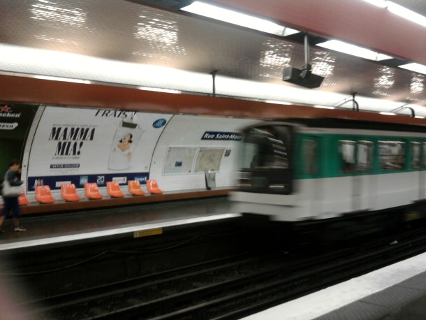 Paris Metro Station - Rue St. Maur