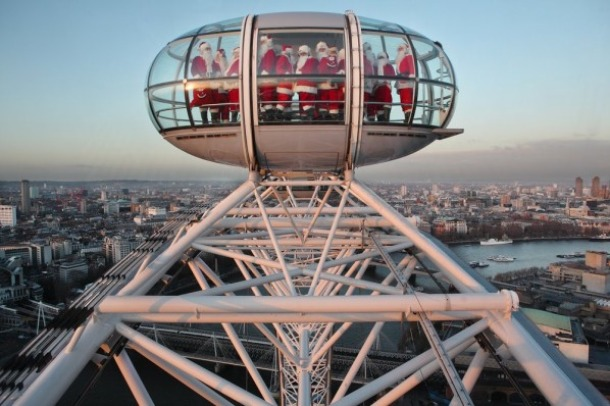 Christmas Package Offers in London Eye - Source breakingtravelnews.com