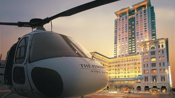 Helicopter Hotel Transfer - Source bbc.com