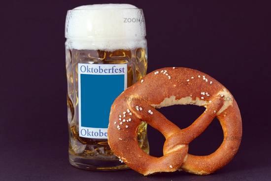 Oktoberfest Brezel and Beer 2011 - Source Zoonar.com.jpg