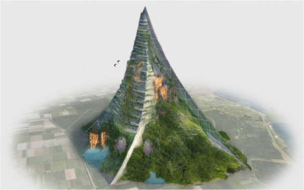 The First Artificial Mountain, in Holland - Source dailymail.co.uk