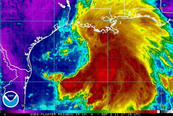 Tropical Storm Lee Tracking - Source media.nola.com
