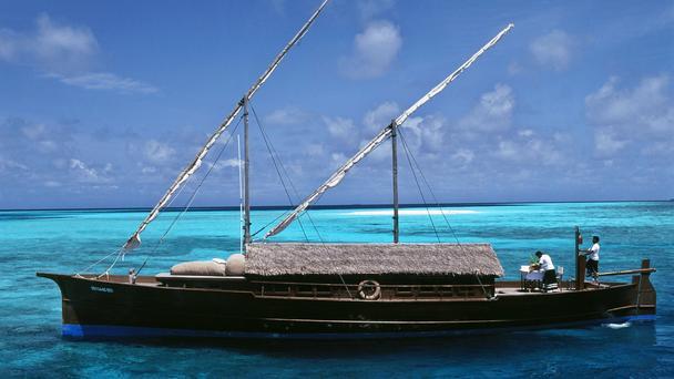 Wooden Sailboat Hotel Transfer - Source bbc.com