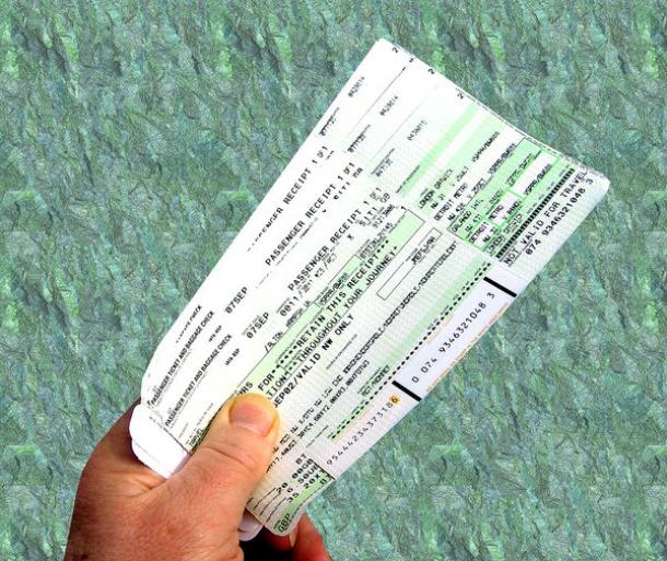 Bidding on Airline Tickets