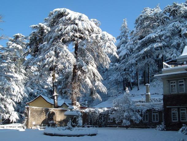 Shimla - Summer Destination 2012 - Source allaboutindia.org