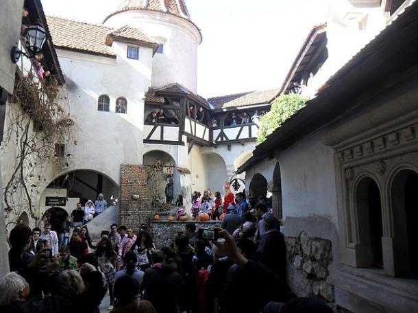 Bran Castle Halloween 2011