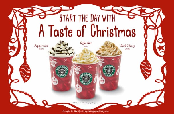 Christmas 2011 at Starbucks - Peppermint, Toffee Nut or Dark Cherry - Source 4.bp.blogspot.com