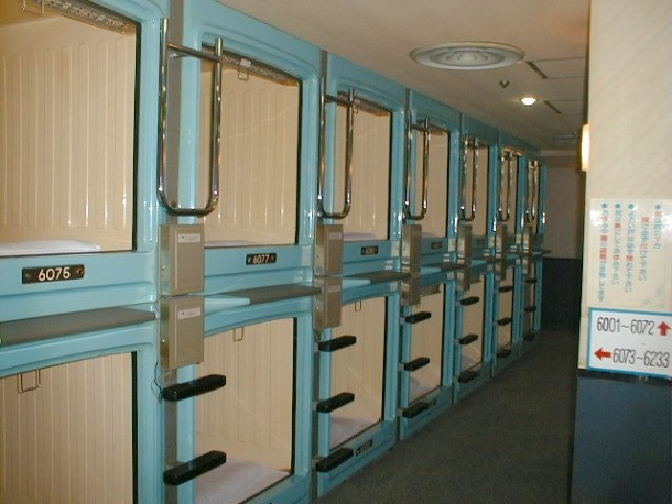 Tokyo - Tiniest Hotel Rooms in the World - Source yesicanusechopsticks.com
