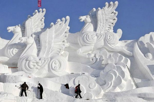 Ice Town in China - Source jesad.com