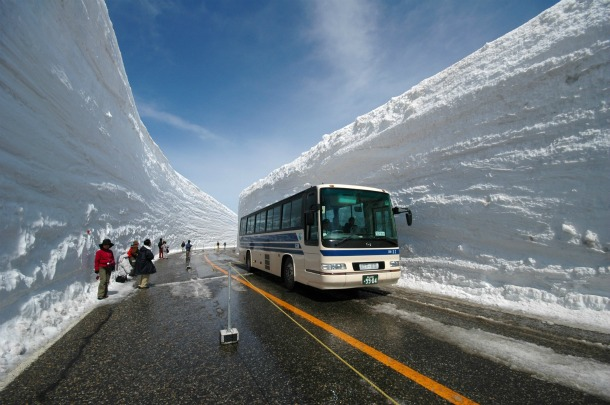 Tateyama Kurobe Alpine Route - Source periergaa.blogspot.com