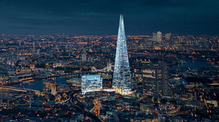 Shard - London Grand Building - Source londonbridgequarter.com