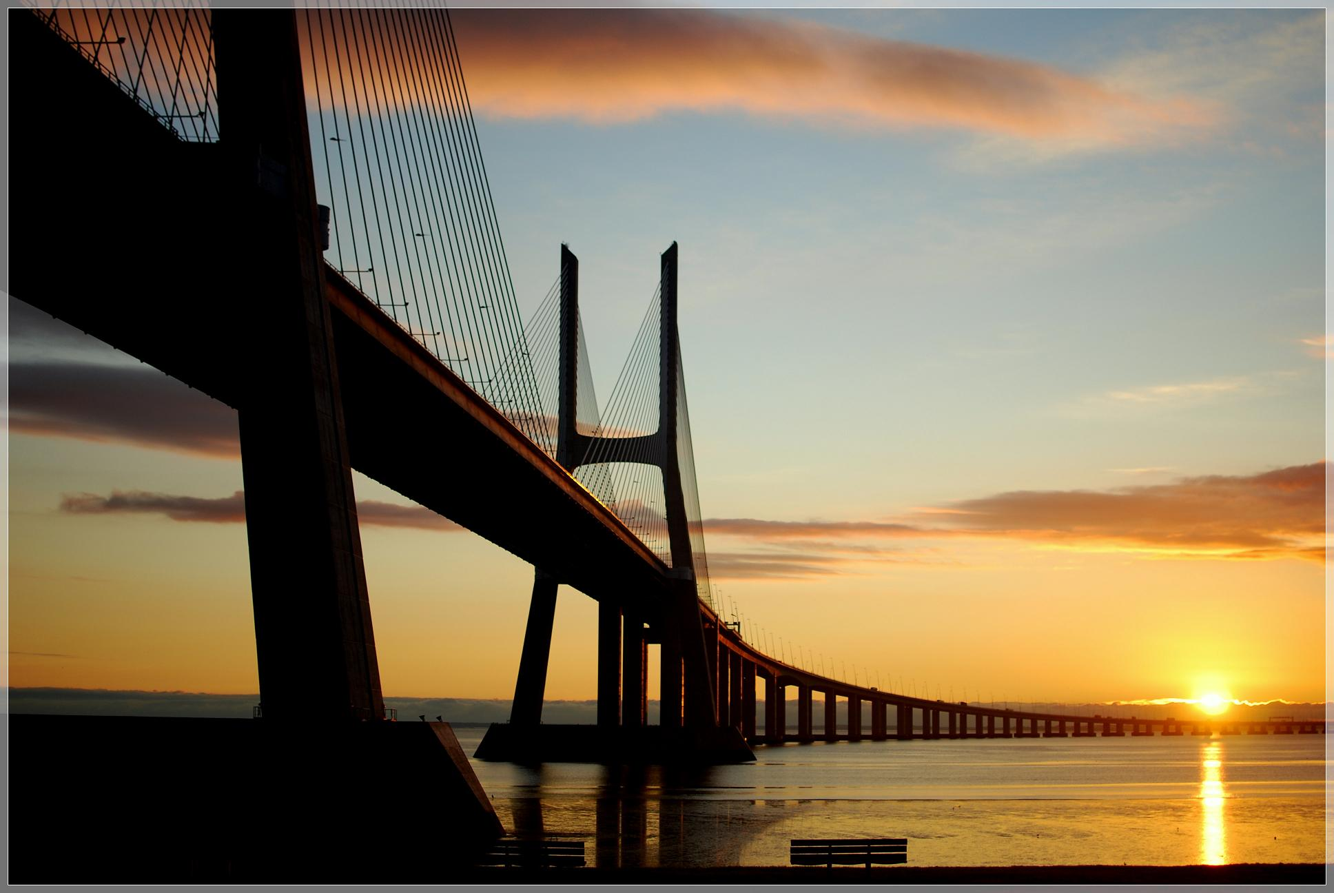 Vasco da Gama - The Longest Bridge in Europe
